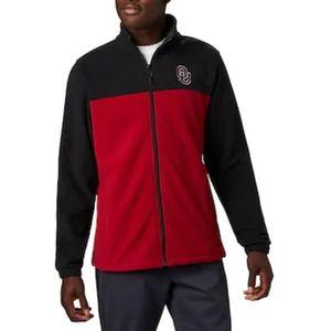 NWT-OU 🏈Columbia fleece jacket-L